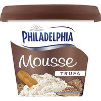 Crema mousse de trufa PHILADELPHIA, tarrina 140 g
