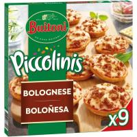 Piccolinis sabor Bolognesa BUITONI, 9 unid., caja 270 g