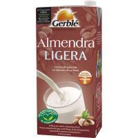 Bebida de almendra ligera GERBLE, brik 1 litro