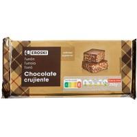 Turrón chocolate crujiente