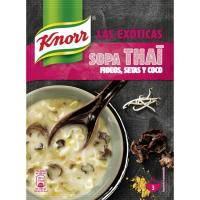 Sopa deshidratada Thai KNORR, sobre 69 g
