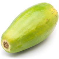 Papaya canaria, pieza al peso aprox. 1 kg