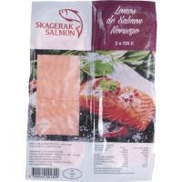 Porción de salmón noruego SKAGERAK, bandeja 250 g
