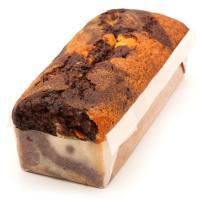 Plum cake marmol EROSKI, 350 g