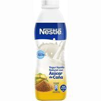 Yogur líquido natural con caña de azúcar NESTLÉ, botella 700 g