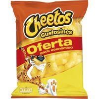 Aperitivo de maíz horneado CHEETOS Gustosines, bolsa 130 g