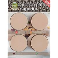 Surtido de paté superior MARTIKO, pack 4x75 g