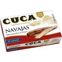 Navaja al natural 4/8 piezas CUCA, lata 65 g