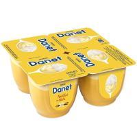 Doble Placer de vainilla-nata DANONE Danet, pack 4x100 g