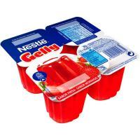 Gelatina Gelly de fresa NESTLÉ, pack 4x90 g
