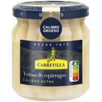 Yema de espárrago gruesa CARRETILLA, frasco 110 g