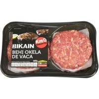 Hamburguesa de vaca BIKAIN, bandeja 480 g