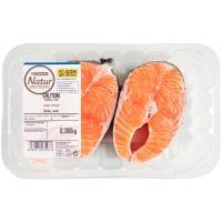 Rodaja de salmón Eroski NATUR, bandeja 300 g