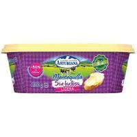 Mantequilla ligera sin lactosa ASTURIANA, tarrina 250 g