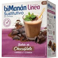 Batido de chocolate BIMANANLINEA, caja 150 g + Coctelera