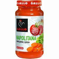 Salsa para pasta napolitana GALLO, frasco 400 g