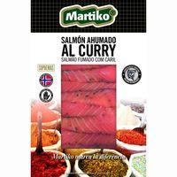 Salmón ahumado al curry MARTIKO, sobre 80 g