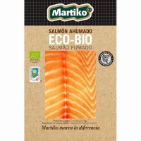 Salmón ahumado Ecobio MARTIKO, sobre 80 g