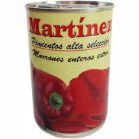 Pimiento morrón entero MARTINEZ, lata 250 g