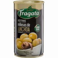 Aceitunas rellenas de anchoa FRAGATA, lata 150 g