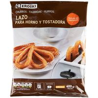 Churros para horno-tostadora EROSKI, bolsa 400 g