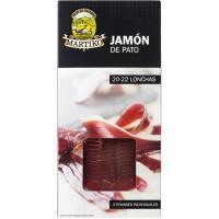 Jamón de pato MARTIKO, pack 2x20 g