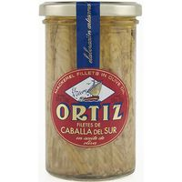 Caballa del Sur en aceite de oliva ORTIZ, frasco 250 g