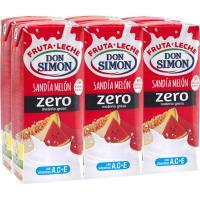 Funciona sabor melón-sandía DON SIMON, pack 6x200 ml