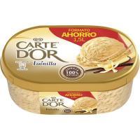 Helado de vainilla CARTE D'OR, tarrina 750 g