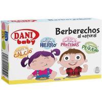 Berberechos pequeños DANI Baby, lata 58 g