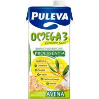 Preparado Lácteo Omega3 con avena PULEVA, brik 1 litro