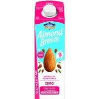 Leche de Almendra Zero ALMOND BREEZE, brik 1 litro
