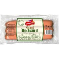 Salchichas Grand Bockwurst CAMPOFRÍO, sobre 400 g