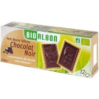 Galleta de chocolate negro BIOALBON, tableta 150 g
