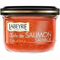 Huevas de salmón LABEYRIE, tarro 80 g