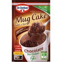 Mug cake de chocolate sin gluten DR.OETKER, caja 60 g