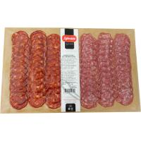 Chorizo-salchichón IGLESIAS, pack 2x125 g