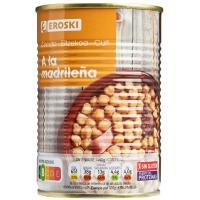 Cocido madrileño, lata