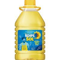 Aceite de girasol KOIPESOL, garrafa 3 litros