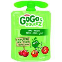 Fruta triturada de manzana 100% fruta GOGO SQUEEZ, doypack 90 g