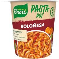 Pasta pot a la boloñesa KNORR, vaso 68 g