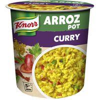 Arroz pot al curry KNORR, vaso 87 g