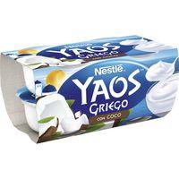 Yogur griego de coco NESTLÉ, pack 4x120 g