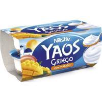 Yogur griego de mango NESTLÉ, pack 4x120 g
