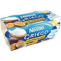 Yogur griego de maracuya NESTLÉ, pack 4x120 g