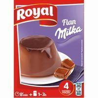 Flan Milka ROYAL, caja 115 g