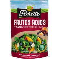 Picatostes de frutos rojos-mango FLORETTE, bolsa 55 g