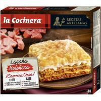 Lasaña a la boloñesa LA COCINERA, caja 1,06 kg