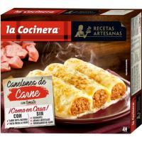 Canelones de carne LA COCINERA, caja 1,06 kg