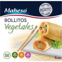 Rollitos vegetales al horno MAHESO, caja 200 g